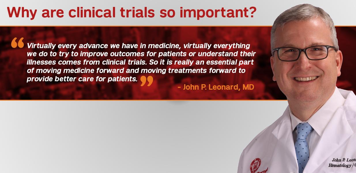 Why is a clinical trial so important?