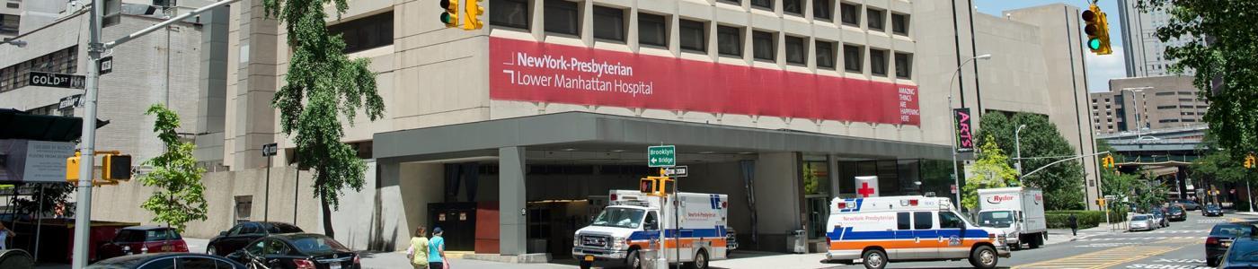 Weill-Cornell Medicine New York-Presbyterian Lower Manhattan