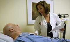 Dr. Erica Jones treating one of her patients from the Heart Health program